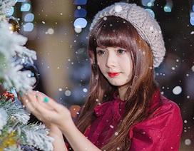 """""""Búp bê ảnh thẻ"""" ấm áp đón Giáng sinh về trên phố Sài Gòn"""