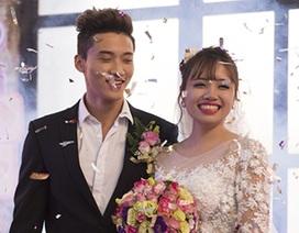 """Cặp đôi mê thể hình mang """"đám cưới game"""" ra đời thực"""