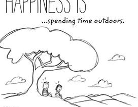 Bộ tranh giúp bạn cảm nhận điều hạnh phúc giản dị quanh ta