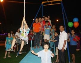 75 sân chơi cho thiếu nhi Hà Nội được xây dựng trong năm 2015