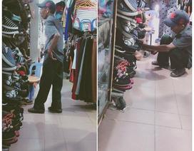 Xúc động chuyện cụ ông mua giày tặng vợ hút 19.000 Like