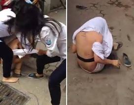 Choáng váng với những màn bạo lực của thiếu nữ năm 2015
