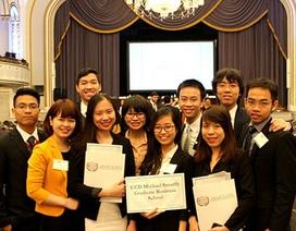 10 SV Việt tham gia Hội nghị mô phỏng Liên Hợp Quốc tại ĐH Harvard