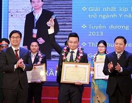 Vinh danh 10 thầy thuốc trẻ tiêu biểu đoạt  giải thưởng Đặng Thùy Trâm