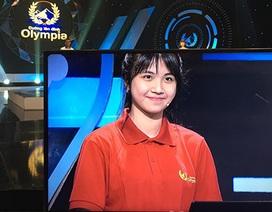 """Nữ thí sinh xinh đẹp gây """"náo loạn"""" Đường lên đỉnh Olympia"""
