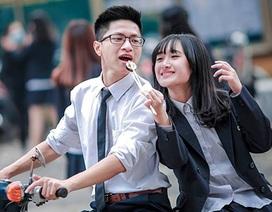 Ảnh kỷ yếu hồn nhiên tuổi học trò của teen Chu Văn An