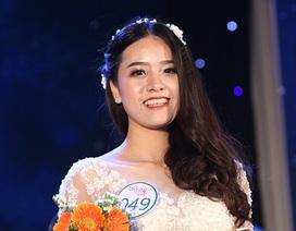 Nữ sinh Trung Quốc dáng chuẩn nổi bật trong cuộc thi Tài sắc Nhân văn