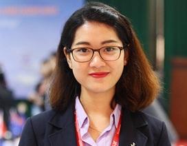 Nữ sinh Ngoại thương xinh đẹp tham gia Tuần lễ Thanh niên ASEM