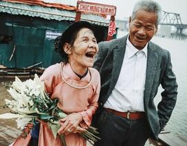 """Mối tình hạnh phúc với người """"vợ nhặt"""" sau 47 năm chung sống"""