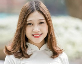 Nhan sắc của Hoa khôi trường ĐH Khoa học xã hội và nhân văn