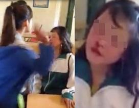 Clip nữ sinh chịu 52 cái tát đến bật máu trong lớp học