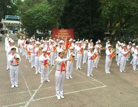 Thiếu niên Hà Nội biểu diễn mừng 75 năm thành lập Đội TNTP