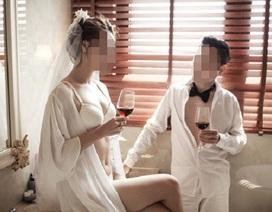 Dân mạng tranh cãi dữ dội về bộ ảnh cưới mặc nội y của cặp đôi Sài Gòn