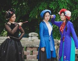 Nàng Tấm, Cám và Dì Ghẻ xinh đẹp trong bộ ảnh cosplay
