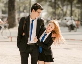 """Cặp đôi yêu xa """"chàng cao 1m90, nàng 1m60"""" nổi tiếng trên mạng"""