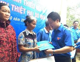 Tấm lòng thanh niên Thủ đô hướng về đồng bào Hà Tĩnh, Quảng Bình
