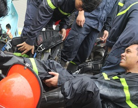 Bộ ảnh ý nghĩa về người lính cứu hỏa khi làm nhiệm vụ