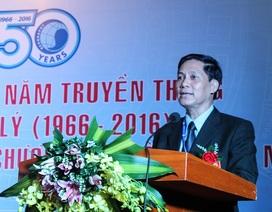 Khoa Địa lí ĐH KHTN kỉ niệm 50 năm và đón nhận Huân chương Lao động hạng Nhì