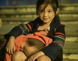 """Bức ảnh """"Đứa bé"""" Sa Pa gây xúc động cộng đồng mạng"""