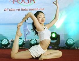 Chuyện buổi dạy đầu tiên của người đẹp yoga Hải Phòng