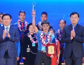 Trao giải thưởng Lương Định Của tới 85 thanh niên nông thôn tiêu biểu
