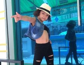 Bé gái 6 tuổi nhảy hiphop điệu nghệ khiến khán giả trầm trồ