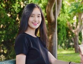"""Tân Hoa khôi nữ sinh Việt Nam: """"Ngôi vị mang áp lực không hề nhỏ"""""""