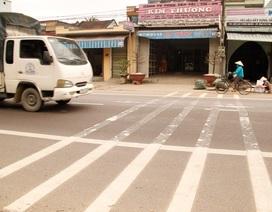 Bình Định: Dân tự ý đục phá gờ giảm tốc độ trên Quốc lộ 1A vì gây tiếng ồn
