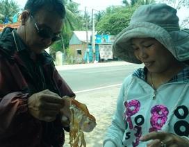Thực hư về loại mực giá rẻ nghi làm bằng… bột mì, cao su ở Bình Định