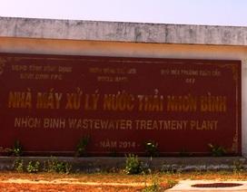 """Bình Định: Nhà máy xử lý nước thải triệu đô """"hành dân"""" vì mùi xú uế"""