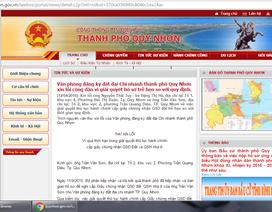 Thành phố đăng thư xin lỗi dân vì trễ hẹn cấp sổ đỏ