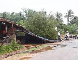 75 ngôi nhà bị tốc mái do mưa đá kèm lốc xoáy bất thường