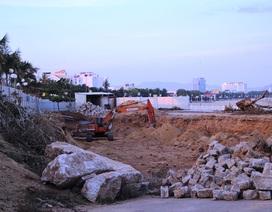 Dừng thi công nhà hàng âm cạnh biển Quy Nhơn
