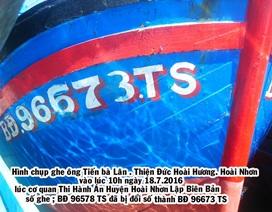 """Bình Định: Vì sao không cưỡng chế được tàu cá """"né"""" thi hành án?"""