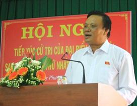 Phó Bí thư Bình Định trần tình trước cử tri về tấm bằng tiến sĩ