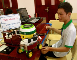 Nhà thông minh, robot tiện ích… trình diễn tại Hội thi Tin học trẻ toàn quốc