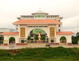 33 cán bộ, giảng viên ĐH Quang Trung bức xúc vì sắp mất việc
