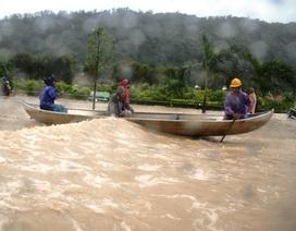 Bình Định: Cuộc sống đảo lộn vì mưa lũ