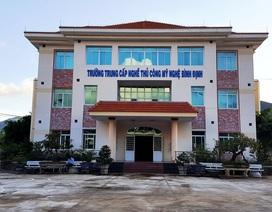 Cách chức hiệu trưởng Trường Trung cấp nghề thủ công mỹ nghệ Bình Định