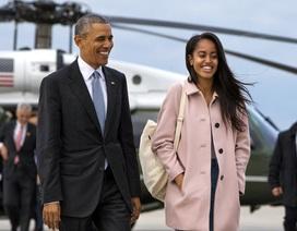 Con gái lớn nhà Obama sẽ vào đại học Havard