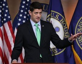 Chủ tịch Hạ viện Mỹ không ủng hộ Donald Trump tranh cử tổng thống