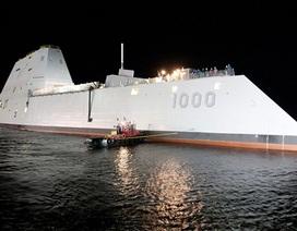 Mỹ chạy thử nghiệm siêu tàu khu trục 3 tỷ USD