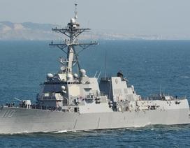 Tàu khu trục Mỹ tuần tra Biển Đông