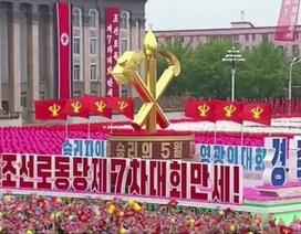 Triều Tiên diễu hành mừng đại hội đảng thành công