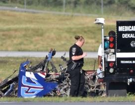Phi công thiệt mạng do máy bay rơi khi trình diễn