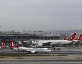 Máy bay chở khách Thổ Nhĩ Kỳ bị đe dọa đánh bom