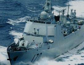Chiến hạm Mỹ-Nhật theo dõi sát sao cuộc tập trận của Trung Quốc