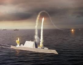 Siêu tàu khu trục Mỹ bị nghi ngờ về khả năng tác chiến