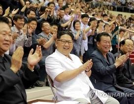 Ông Kim Jong-un cổ vũ thi đấu bóng rổ