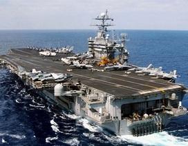 Mỹ lần đầu không kích IS từ tàu sân bay ở Địa Trung Hải